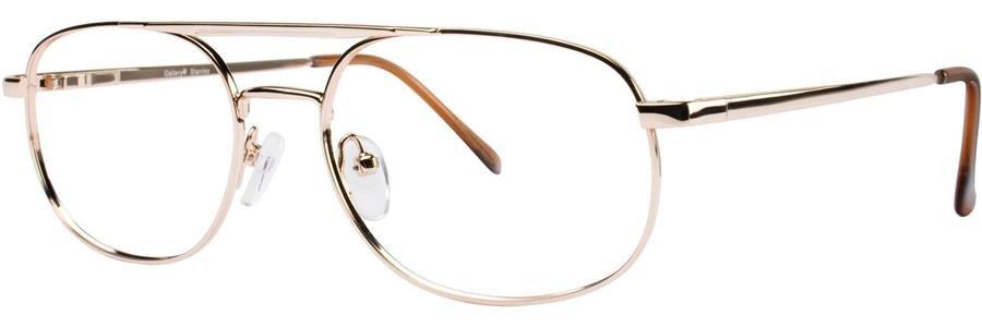 Gallery STANLEY Gold Eyeglasses Size54-18-145.00