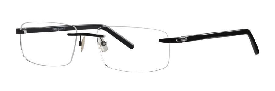 Jhane Barnes SUBSET 13 Black Eyeglasses Size56-18-145.00