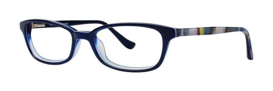 kensie SUMMER Navy Eyeglasses Size50-17-135.00