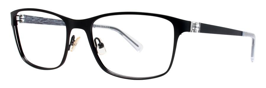 Jhane Barnes SYSTEM Black Eyeglasses Size56-18-140.00