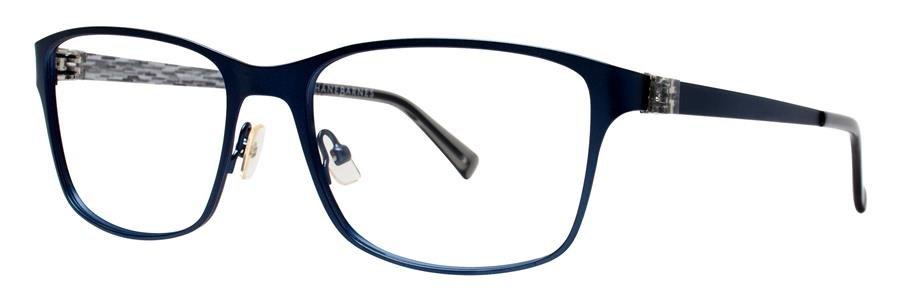 Jhane Barnes SYSTEM Navy Eyeglasses Size56-18-140.00