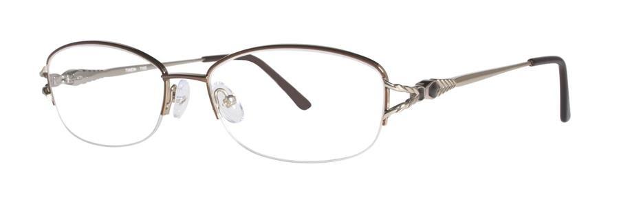 Timex T183 Brown Eyeglasses Size54-17-137.00