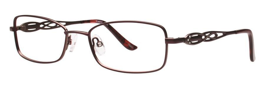 Timex T192 Burgundy Eyeglasses Size49-17-130.00