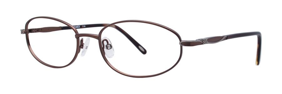 Timex T196 Brown Eyeglasses Size52-17-130.00