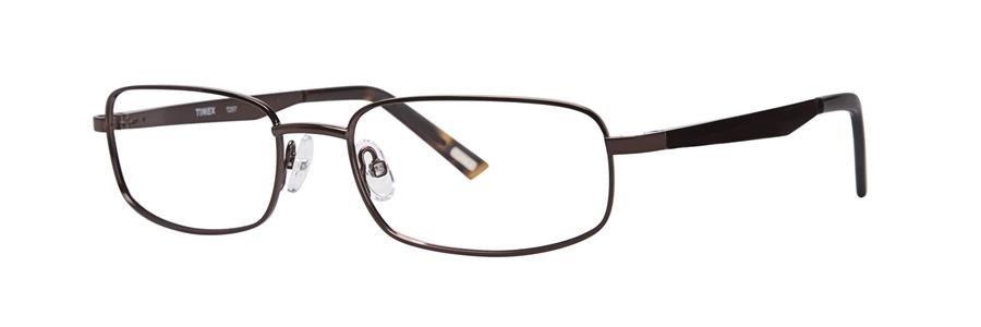 Timex T257 Brown Eyeglasses Size56-18-142.00