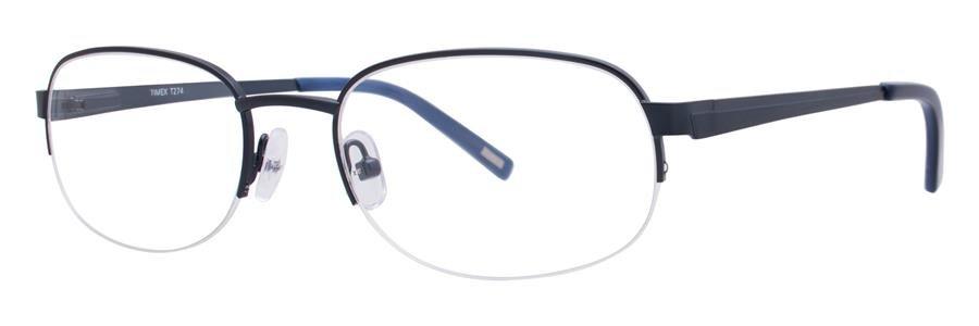 Timex T274 Navy Eyeglasses Size54-19-145.00