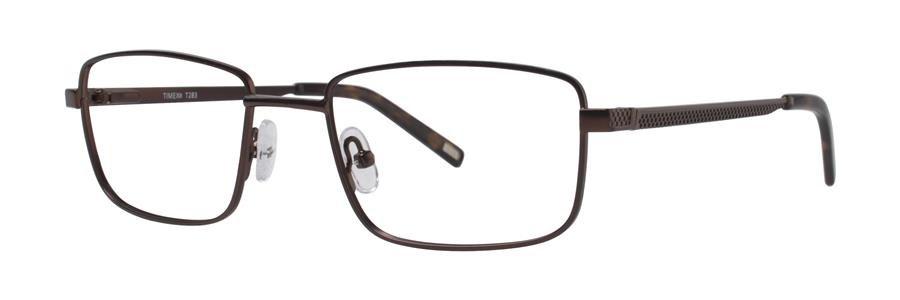 Timex T283 Brown Eyeglasses Size50-18-135.00