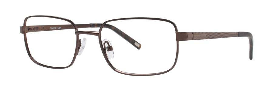 Timex T284 Brown Eyeglasses Size50-17-135.00