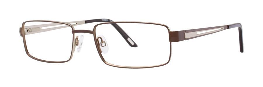 Timex T286 Brown Eyeglasses Size55-17-145.00