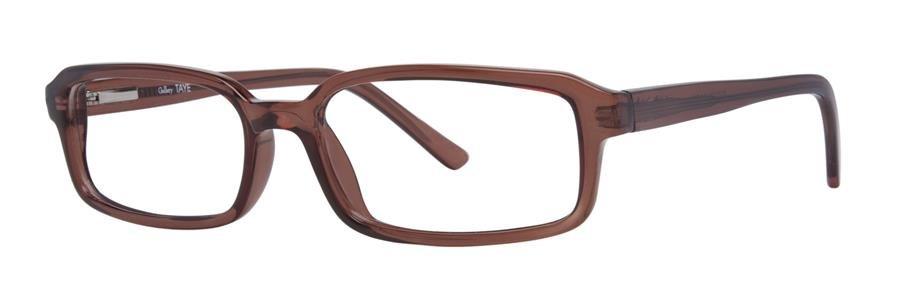 Gallery TAYE Brown Crystal Eyeglasses Size54-17-140.00