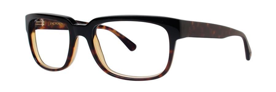Zac Posen TECH Tortoise Black Grdnt Eyeglasses Size53-19-135.00