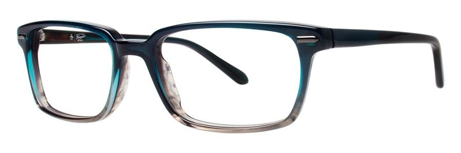 Original Penguin Eye THE BAKER Bay Blue Eyeglasses Size53-18-140.00