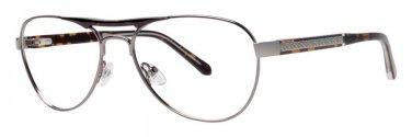 Original Penguin Eye THE CAMERON Gunmetal Eyeglasses Size56-16-145.00