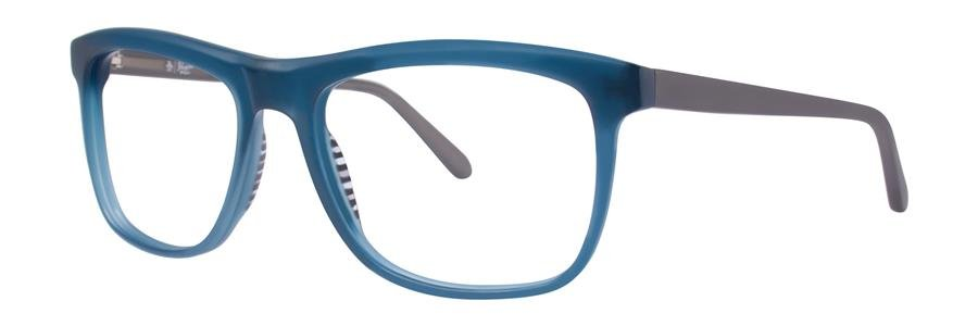 Original Penguin Eye THE FLAT TOP Methyl Blue Eyeglasses Size55-17-145.00