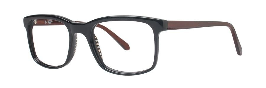 Original Penguin Eye THE HAYES Black Eyeglasses Size50-19-135.00