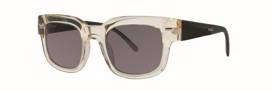 Original Penguin Eye THE VARGAS Yellow Crystal Sunglasses Size51-23-145.00