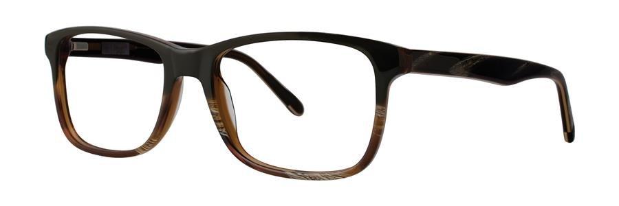 Original Penguin Eye THE WEBLO Olive Horn Eyeglasses Size54-18-145.00