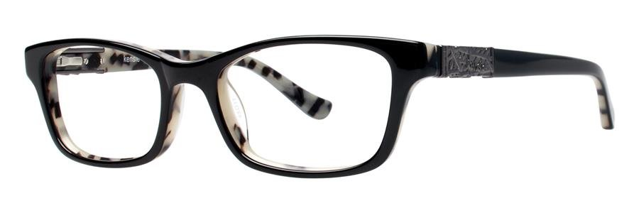 kensie TIMELESS Black Eyeglasses Size48-17-135.00
