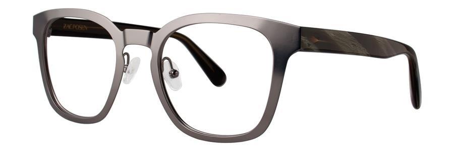 Zac Posen TOMMASO Gunmetal Eyeglasses Size49-20-140.00