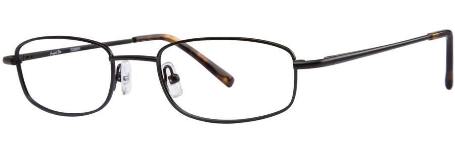 Comfort Flex TOMMY Black Eyeglasses Size53-20-145.00
