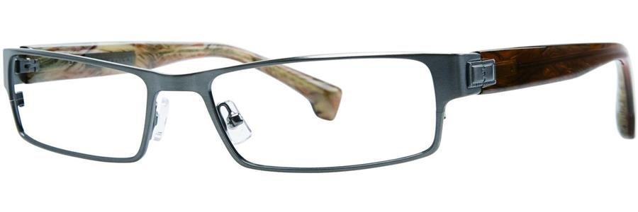 Republica TORONTO Gunmetal Eyeglasses Size56-17-143.00