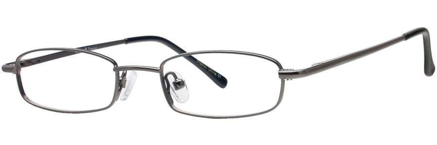 Gallery TREVOR Gunmetal Eyeglasses Size45-17-130.00