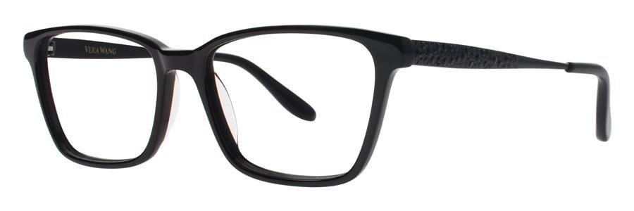 Vera Wang TULA Black Eyeglasses Size53-16-135.00
