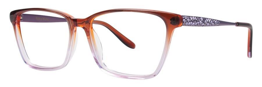 Vera Wang TULA Wine Eyeglasses Size53-16-135.00