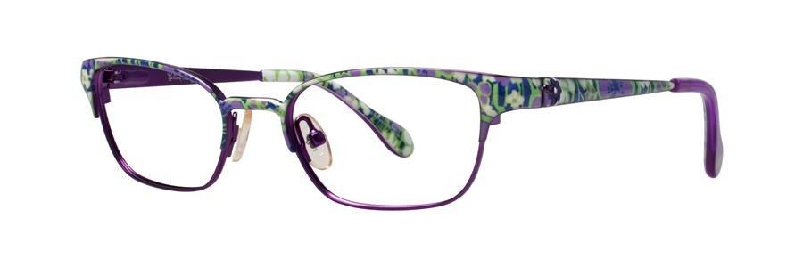Lilly Pulitzer TULLY Navy Eyeglasses Size45-16-120.00
