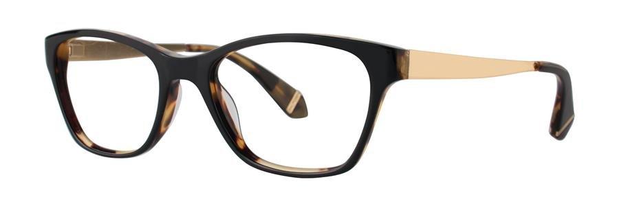 Zac Posen URSULA Black Eyeglasses Size53-17-140.00