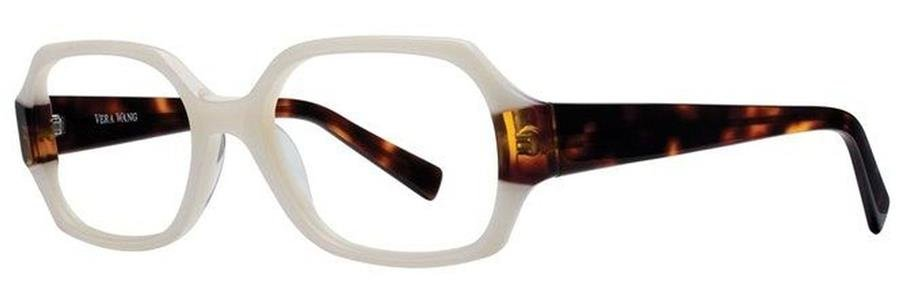 Vera Wang V162 White Pearl Eyeglasses Size52-18-135.00