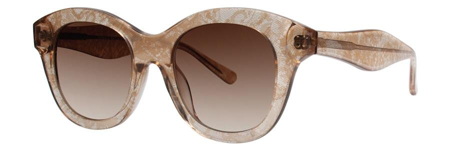 Vera Wang V283 Brown Lace Sunglasses Size49-20-140.00