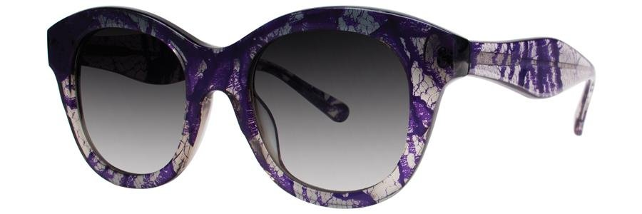 Vera Wang V283 Periwinkle Lace Sunglasses Size49-20-140.00