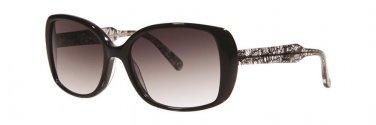 Vera Wang V287 Black Lace Sunglasses Size56-17-135.00