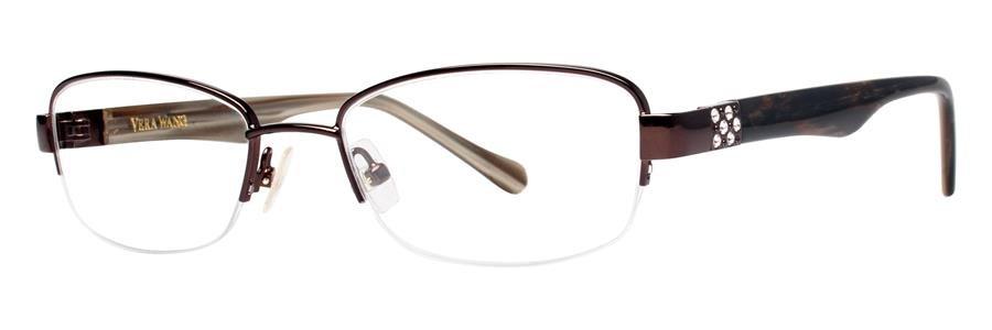 Vera Wang V329 Brown Sunglasses Size53-18-136.00