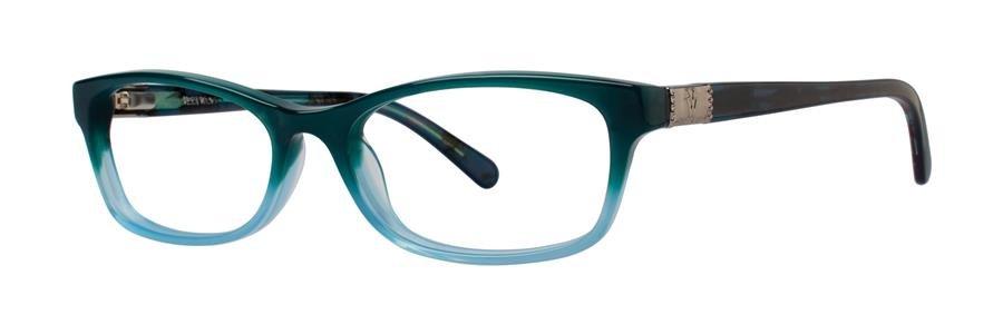 Vera Wang V337 Teal Gradient Sunglasses Size52-16-135.00