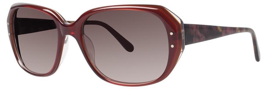 Vera Wang V416 Burgundy Sunglasses Size54-17-135.00