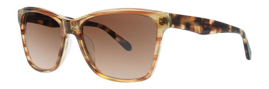 Vera Wang V419 Brown Sunglasses Size55-16-135.00