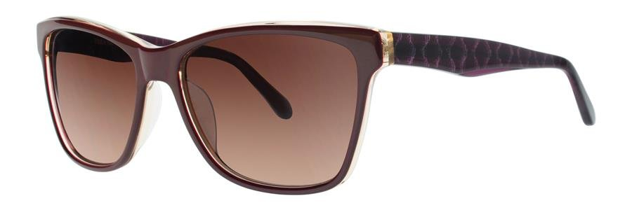 Vera Wang V419 Burgundy Sunglasses Size55-16-135.00