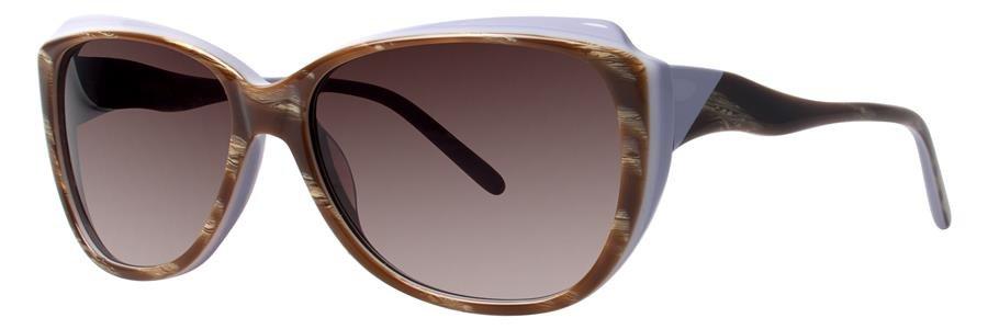 Vera Wang V424 Blonde Horn Sunglasses Size55-15-135.00