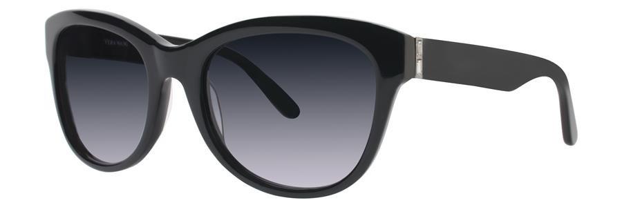 Vera Wang V434 Black Sunglasses Size54-20-135.00