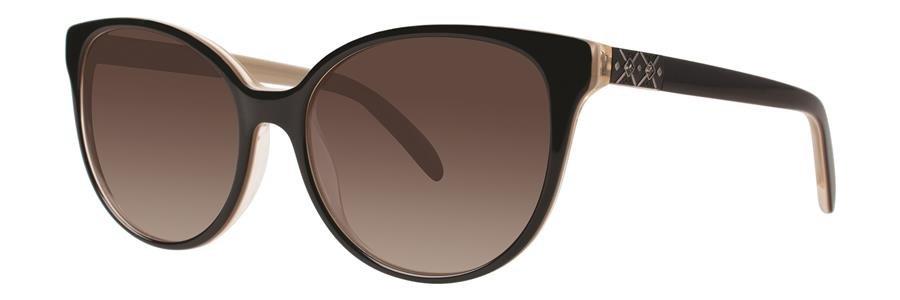 Vera Wang V440 Black Sunglasses Size53-16-135.00