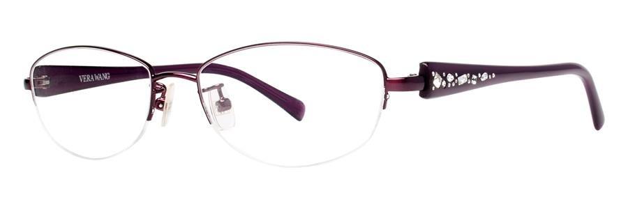 Vera Wang VA02 Burgundy Eyeglasses Size53-15-138.00