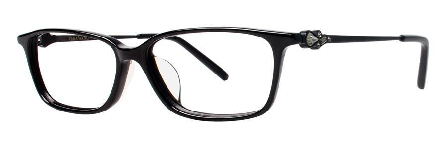 Vera Wang VA03 Black Eyeglasses Size52-14-140.00