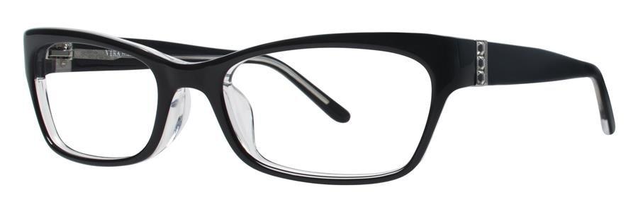 Vera Wang VA05 Black Eyeglasses Size53-18-135.00