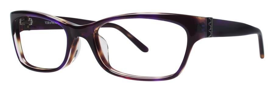Vera Wang VA05 Plum Tortoise Eyeglasses Size51-18-130.00