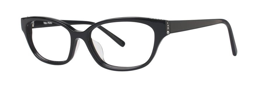 Vera Wang VA12 Black Eyeglasses Size53-16-135.00