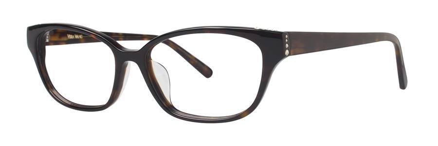 Vera Wang VA12 Tortoise Eyeglasses Size53-16-135.00