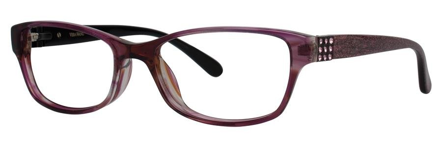 Vera Wang VA13 Burgundy Eyeglasses Size52-16-135.00