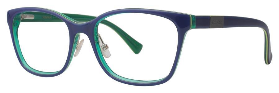 Vera Wang VA14 Blue Eyeglasses Size52-16-135.00